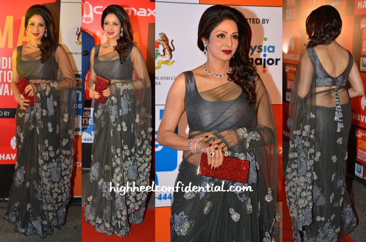 Sridevi At In Manish Malhotra SIIMA Awards 2014-2