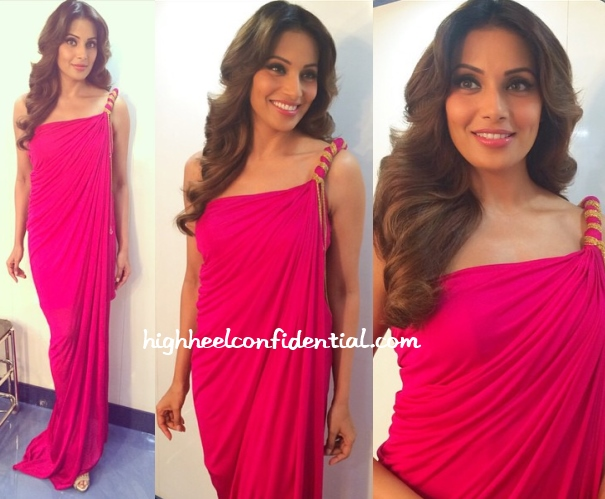 bipasha-basu-raakesh-agarvwal-comedy-nights-creature-3d-promotions