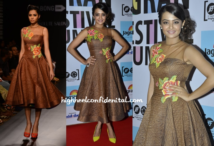 surveen-chawla-neha-agarwal-5th-jagran-film-festival-2014