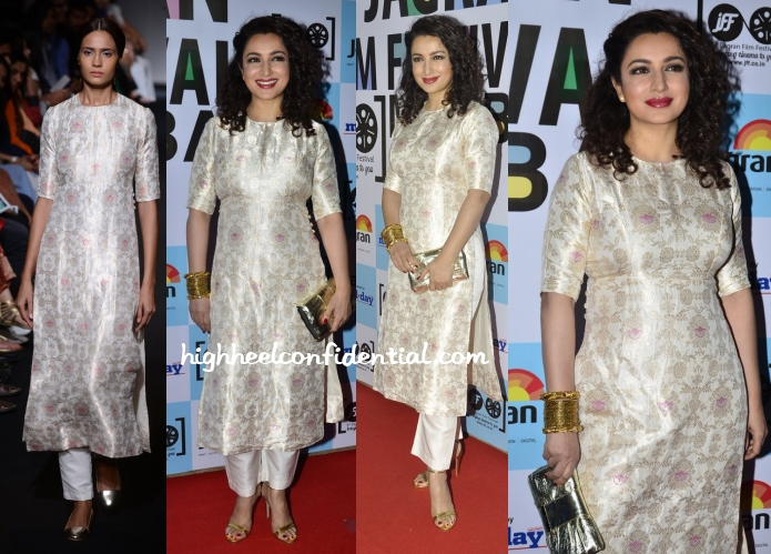 tisca-chopra-sanjay-garg-5th-jagran-film-festival-party