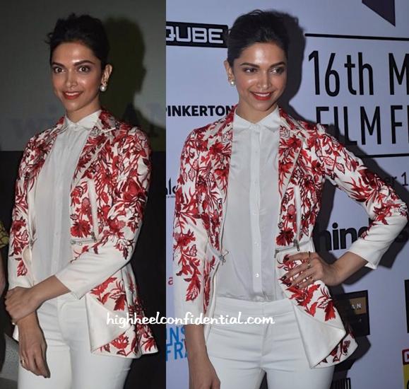 Deepika Padukone In Varun Bahl At Mumbai Film Festival 2014-2