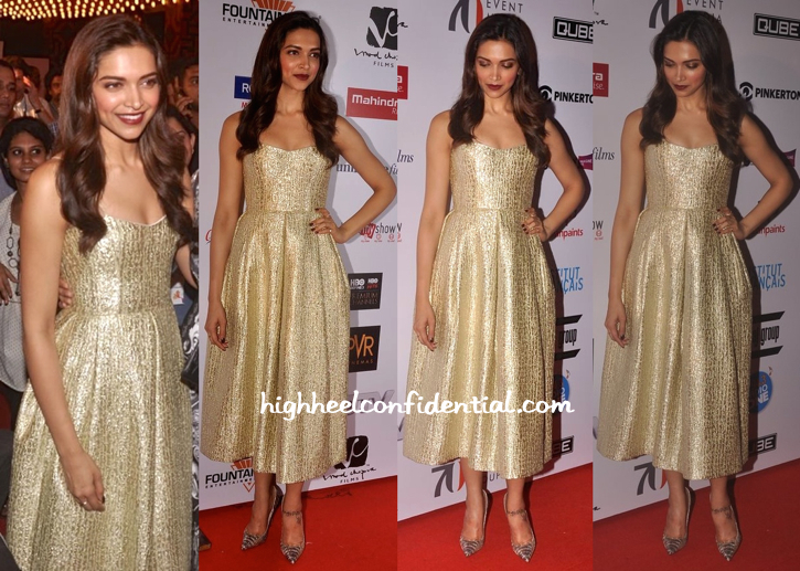 Deepika Padukone Wears Alex Perry To Mumbai Film Festival 2015-1