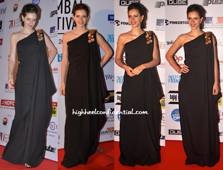Kalki Koechlin At Mumbai Film Festival 2014-1