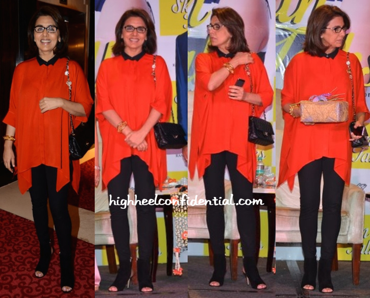 Neetu Singh In Gucci At Skin Talks Book Launch-1