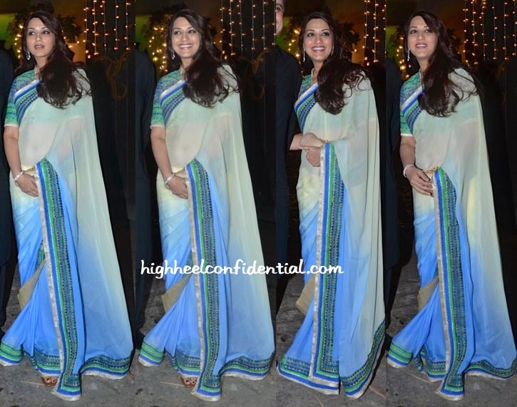 Sonali Bendre At Shilpa Shetty's Diwali Bash