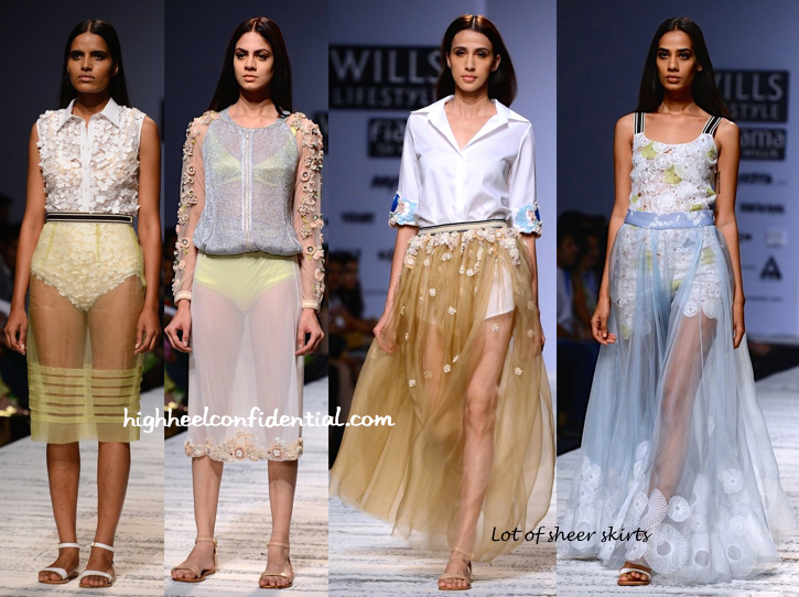WIFW Spring:Summer 2015- Not So Serious By Pallavi Mohan-1