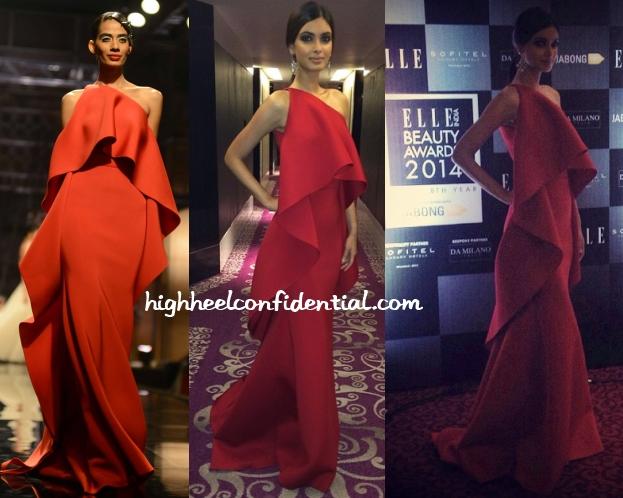 diana-penty-gauri-nainika-elle-beauty-awards-2014