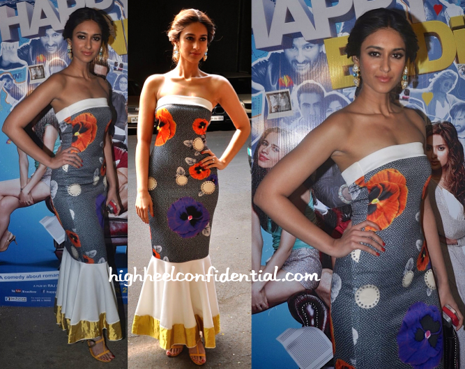 Ileana D'Cruz Wears Masaba To 'Happy Ending' Promotion And Screening-2