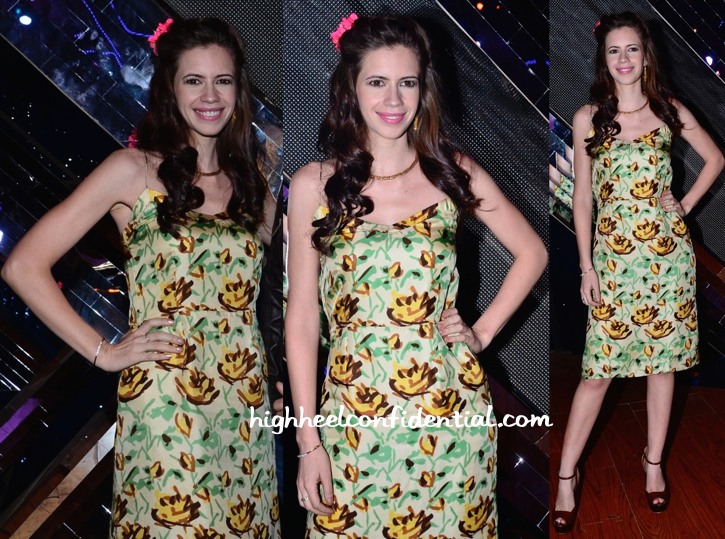 Kalki Koechlin In Shift By Nimish Shah On 'India's Raw Star' Sets For 'Happy Ending' Promotions