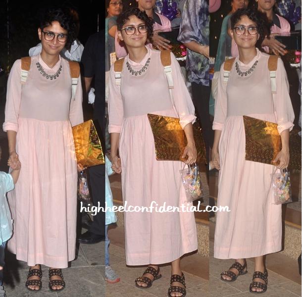 Kiran Rao In Nishka Lulla At Aaradhya Bachchan's Birthday Do
