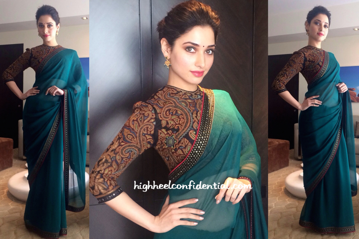 Tamannaah Bhatia On 'Koncham Touch Lo Unte Chepta' Sets-1