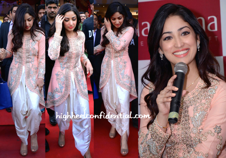 Yami Gautam In Sonali Gupta At A Jewelry Store Launch In Lucknow-2