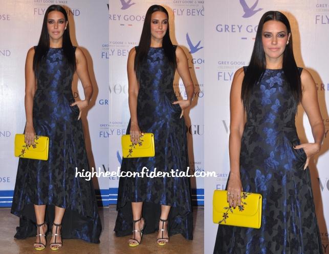neha-dhupia-dior-grey-goose-fly-beyond-awards-2014