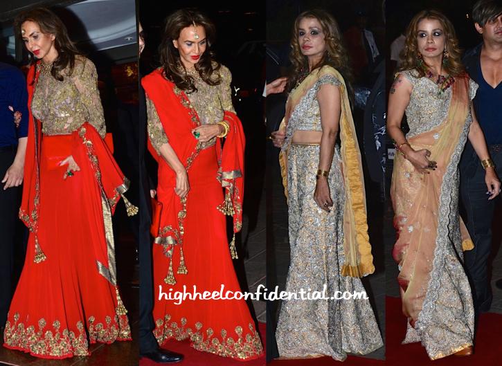parmeshwar godrej and avanti birla at arpita mehta's wedding reception-1