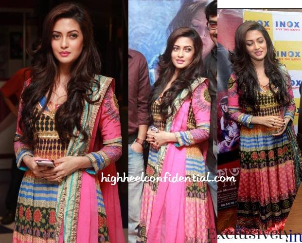 riya-sen-indian-manish-arora-kolkata-calling-premiere