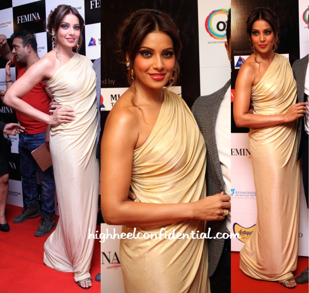 Bipasha Basu In Vineti Bolaki At Femina Style Diva 2014-2