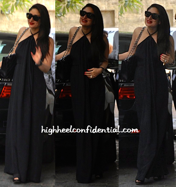 Kareena Kapoor Wears Deme By Gabriella To Christmas Lunch