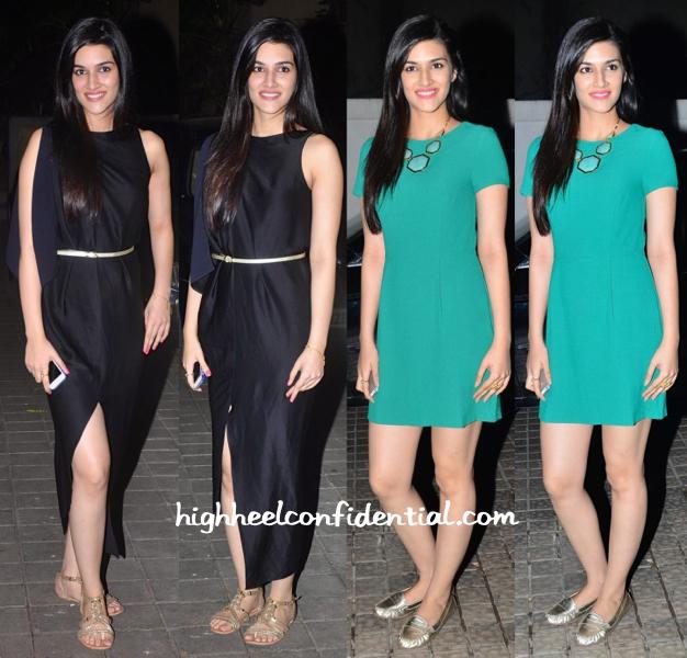 Kriti Sanon-Ugly Premiere-manish malhotra birthday bash