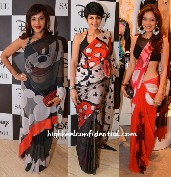 Manasi Scott, Mandira Bedi And Vidya Malvade At Disney For Satya Paul Collection Launch-2