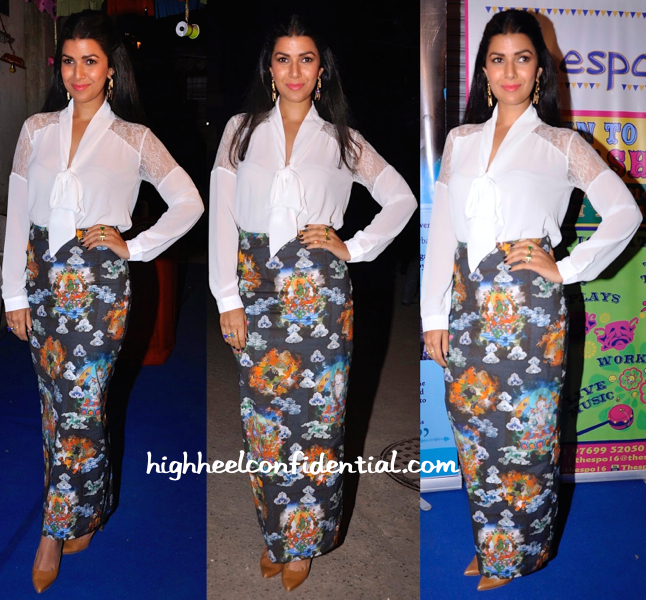 Nimrat Kaur At Thespo 16 Awards-1
