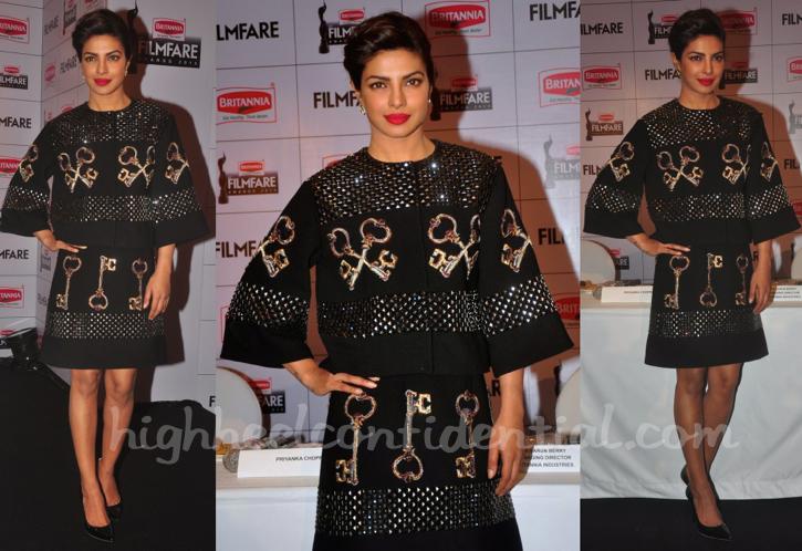 Priyanka Chopra In Dolce & Gabbana At Filmfare Awards Press Meet-1