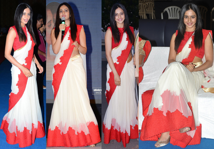 Rakul Preet Singh In Frou Frou By Archana Rao At Beeruva Audio Launch