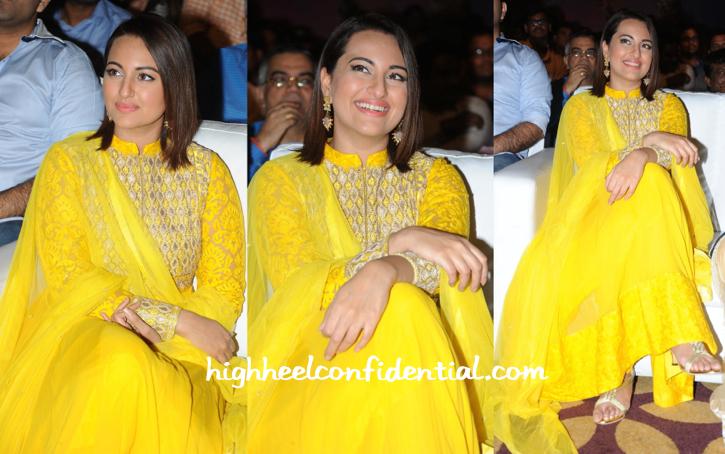 Sonakshi Sinha In Anita Dongre At 'Lingaa' Curtain-raiser-2