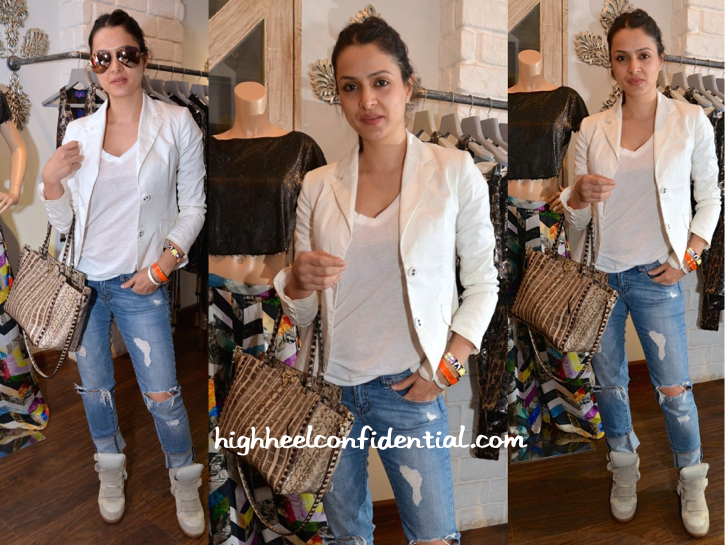 Tanya Deol Totes Valentino To Seema Khan's Collection Preview