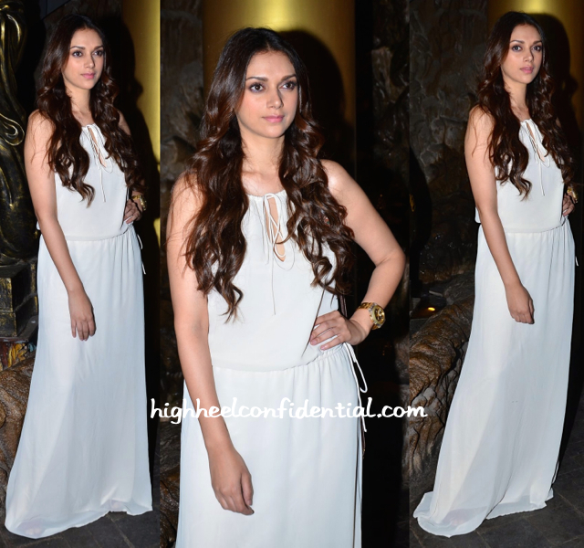 aditi rao hydari at richa chadha birthday bash