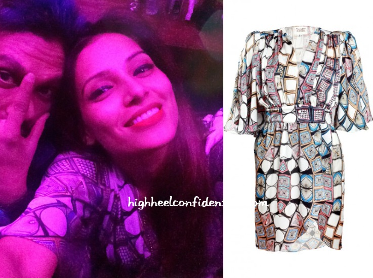 bipasha-basu-goa-nye-turquoise-gold-dress
