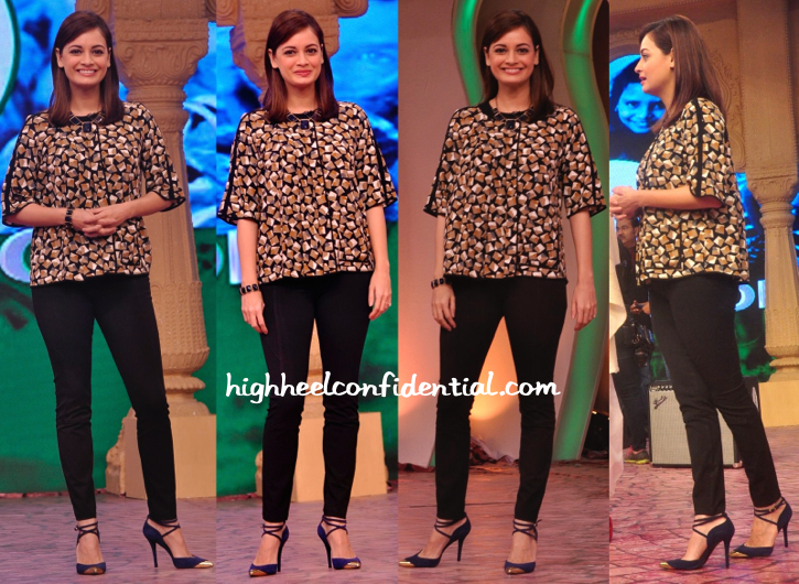 dia mirza in zara at ndtv clenathon-1