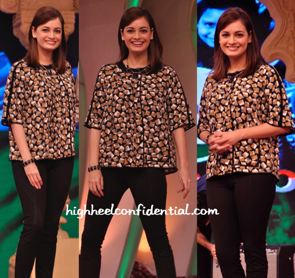 dia mirza in zara at ndtv clenathon-2