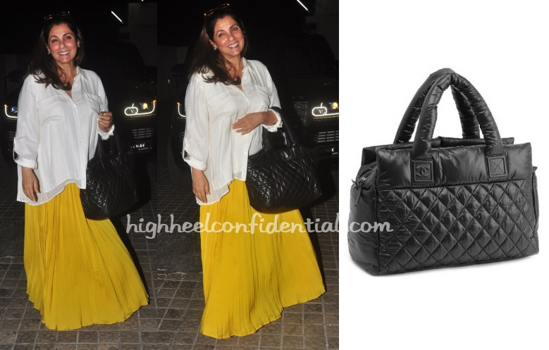 dimple-kapadia-chanel-cocoon-bag