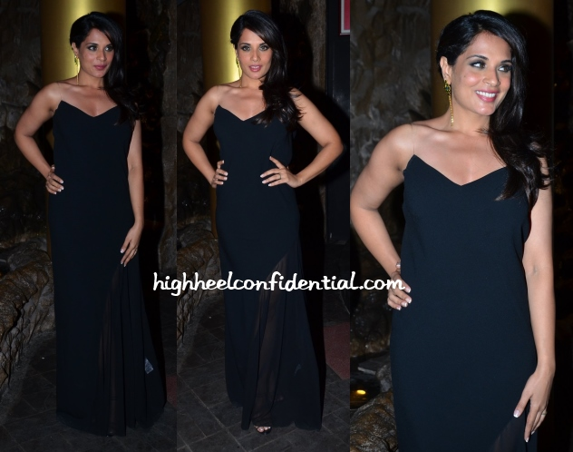 richa-chadha-dkny-birthday-bash-maithili-kabre-earrings