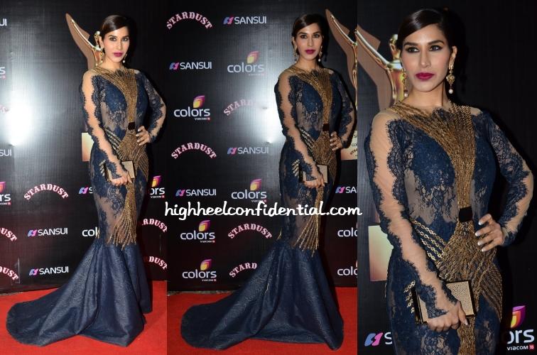 sophie-choudry-tanieya-khanuja-stardust-awards-2014
