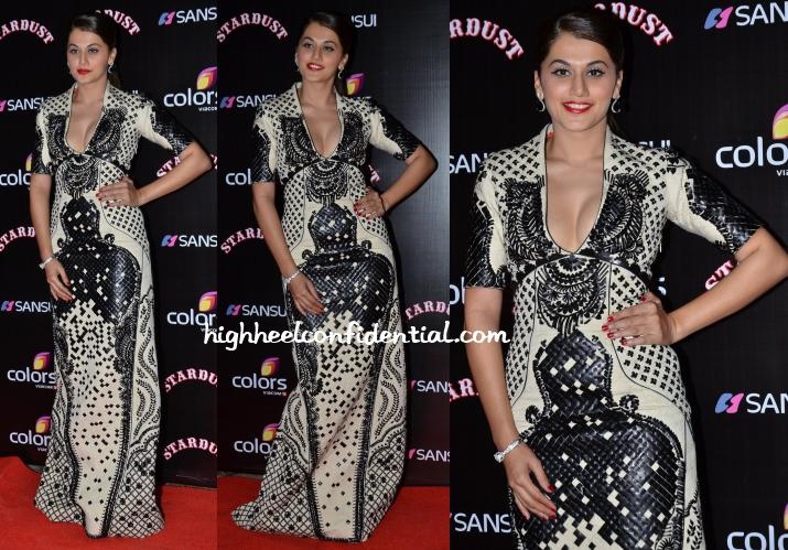 taapsee-pannu-Sahil-Kochhar-stardust-awards-2014