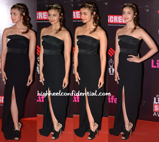 Alia Bhatt In Prabal Gurung At Screen Awards 2015-1