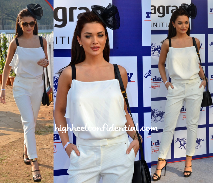 Amy Jackson At Mid-Day Race 2015