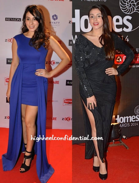 Anindita Nayar In Anand Bhushan At Good Homes Awards And In Mayyur Girotra At Filmfare Pre-Awards 2015 Party-2