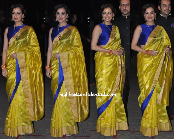 Dia Mirza at Filmfare Awards 2015