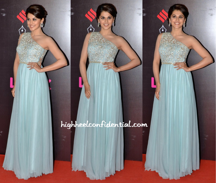 Taapsee Pannu In Vineti Bolaki At Star Screen Awards 2015-1