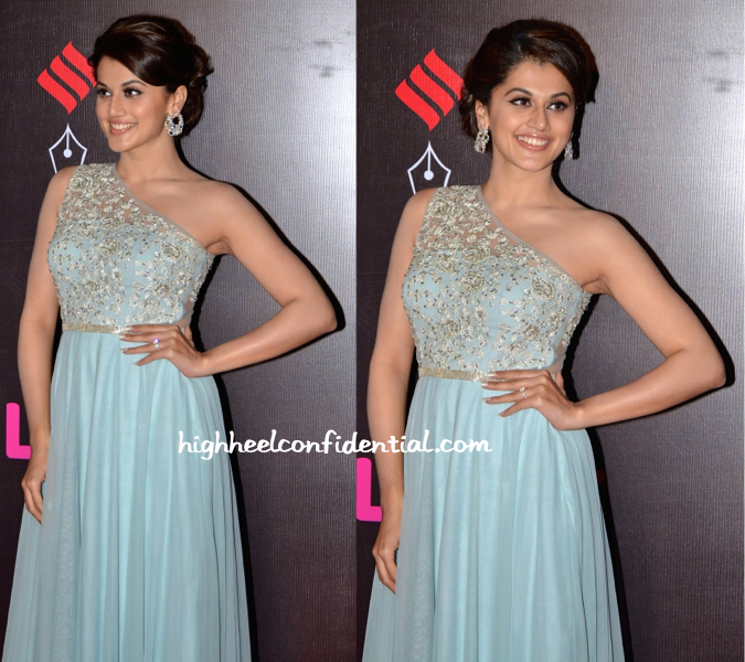 Taapsee Pannu In Vineti Bolaki At Star Screen Awards 2015-2