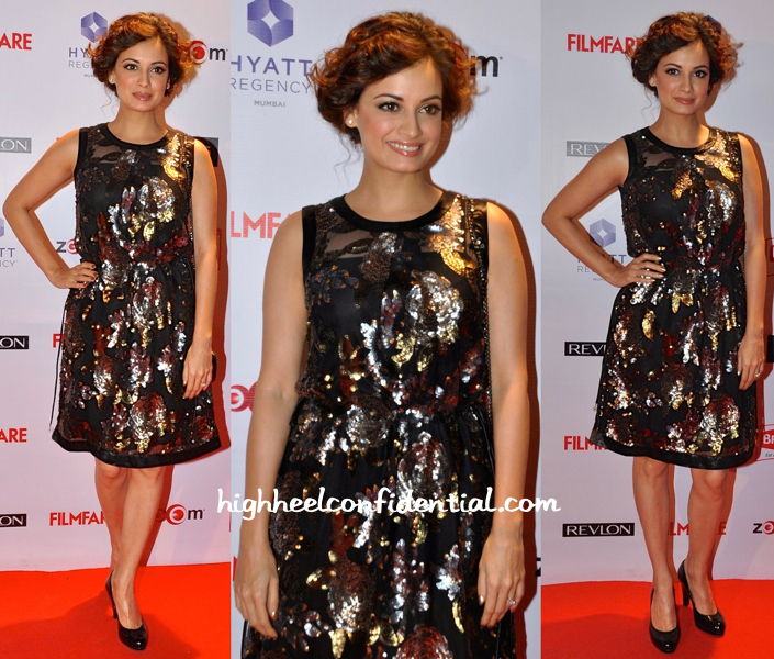dia mirza At Filmfare Pre-Awards Party 2015