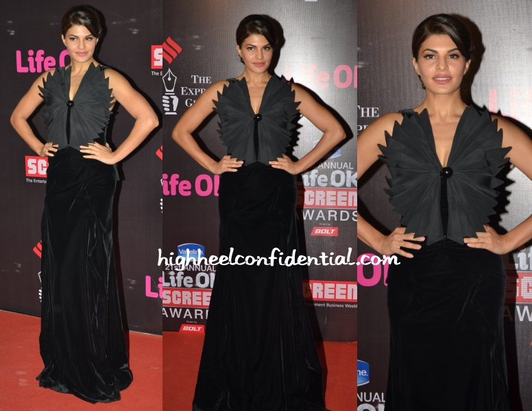 jacqueline-fernandez-giorgio-armani-star-screen-awards-2015