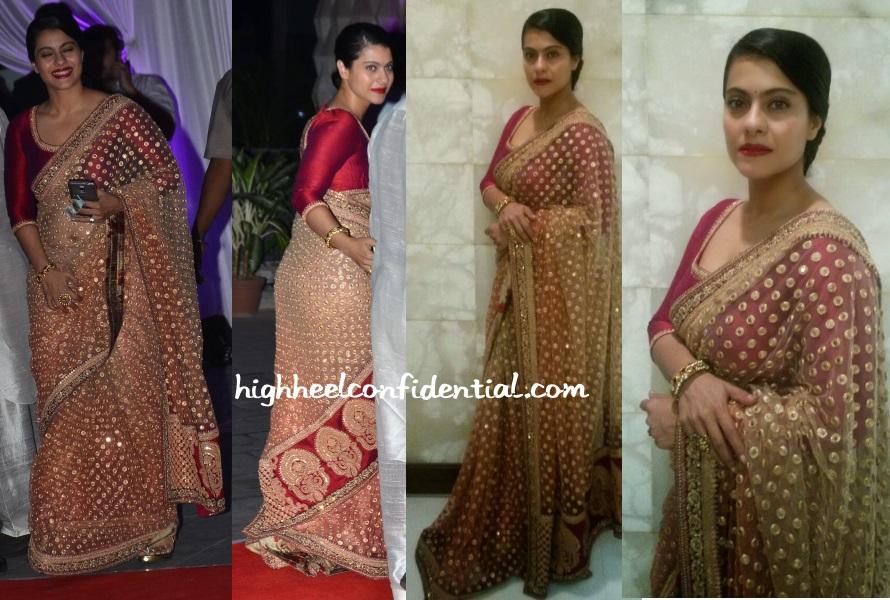 kajol-sabyasachi-kussh-sinha-wedding-reception