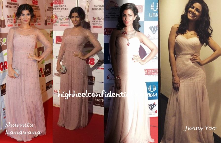 nimrat-kaur-sharnita-nandwana-jenny-yoo-gr8-awards-kolkata-jewellery-fair