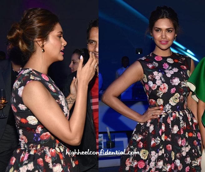 Esha Gupta In Neha Taneja At BMW I8 Launch-2