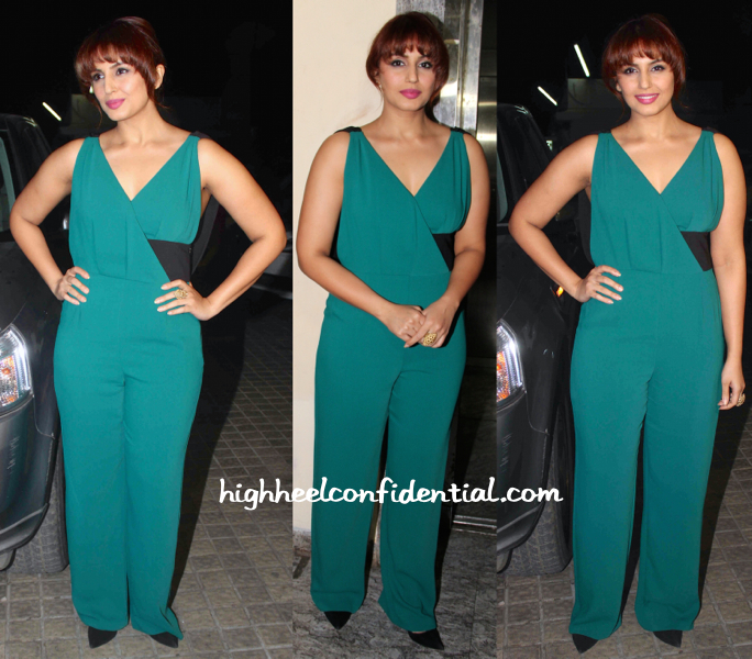 Huma Qureshi At Shamitabh Screening-1
