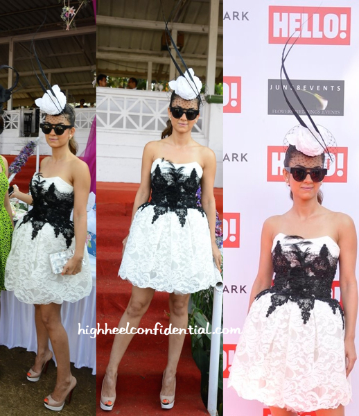 Natasha Poonawala In Loyd:Ford At Hello! Cup-2