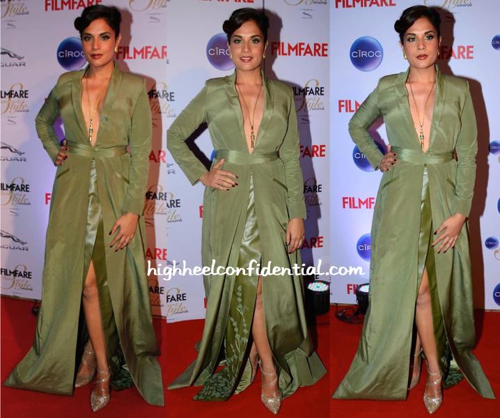 Richa Chadha  At Filmfare Glamour And Style Awards 2015-1